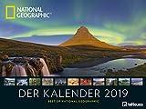 Landschaftskalender 2019 - National Geographic 'Der Kalender' Posterkalender, Landschaftskalender, Naturkalender - 64 x 48 cm