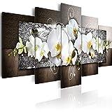 Pmhhc Orchideen Blumen Druckt Wandmalerei 5 Stücke Floral Poster Moderne Leinwand Kunst Modularen Bilder Für Wohnzimmer Wohnkultur Frameless-40X60Cmx2 40X80Cmx2 40X100Cm