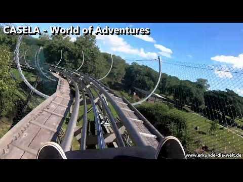 Rodelfahrt im Casela Adventure Park auf Mauritius