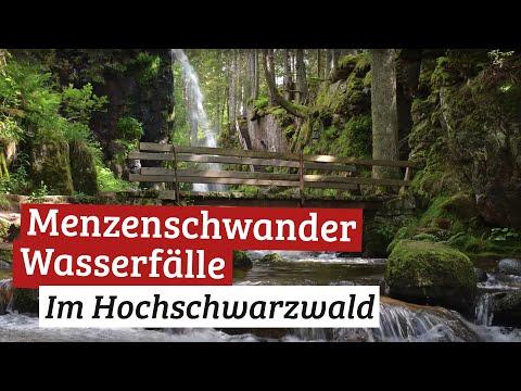 Menzenschwander Wasserfälle im Schwarzwald