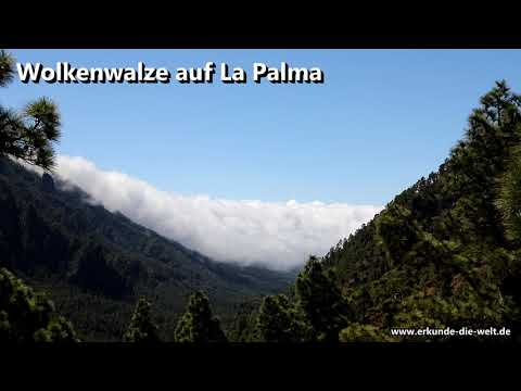 Wolkenwalze auf La Palma