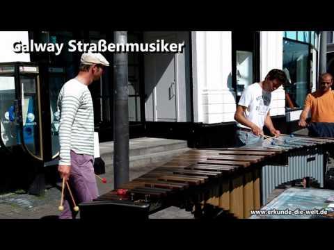 Galway Straßenmusiker