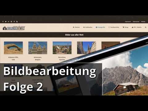 Bildbearbeitung Folge 002 - Berghütte in Österreich