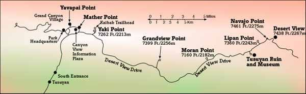 Foto Spots Grand Canyon