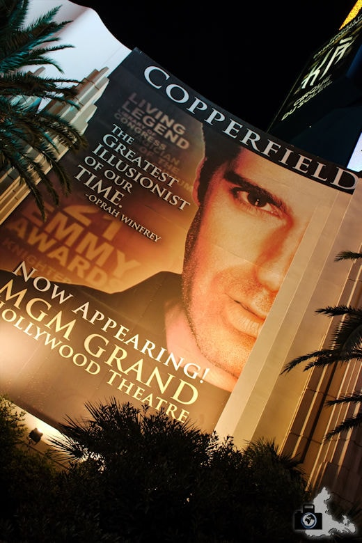 David Copperfield Show im MGM, Las Vegas