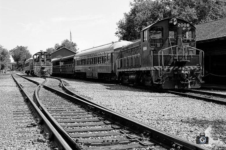 Old Sacramento - Eisenbahnen & Schienen