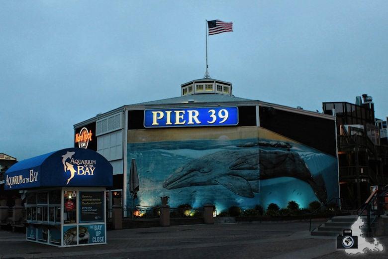 Sehenswürdigkeiten San Francisco - Pier 39