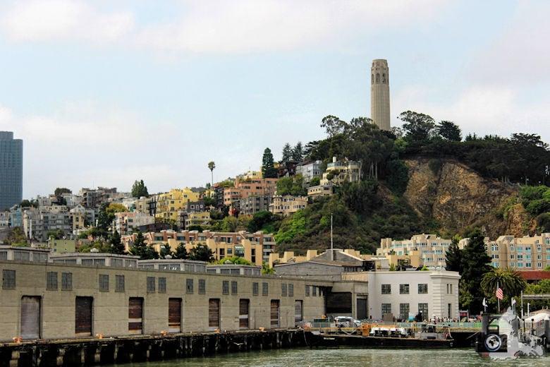 Sehenswürdigkeiten San Francisco - Coit Tower