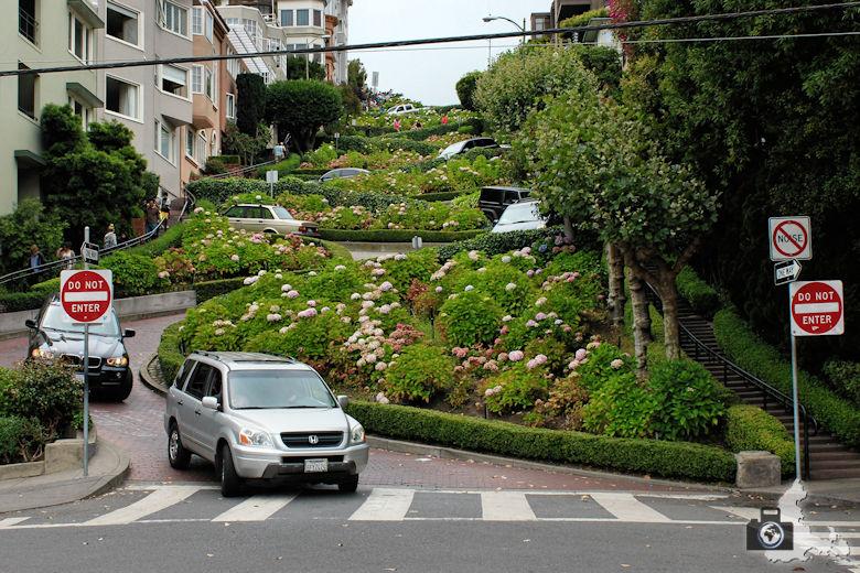 Sehenswürdigkeiten San Francisco - Lombard Street