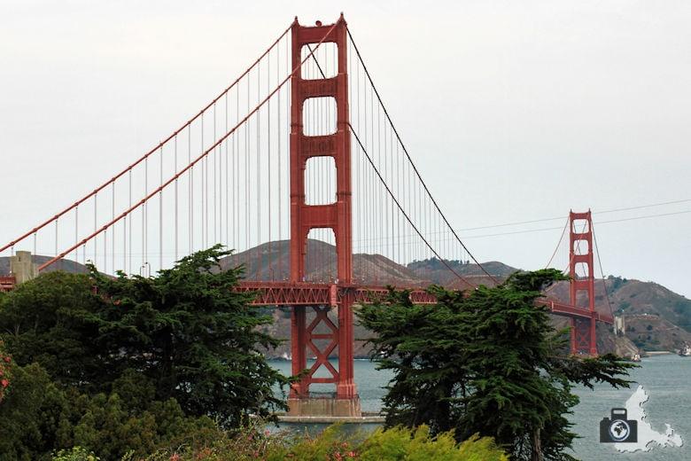 Sehenswürdigkeiten San Francisco - Golden Gate Bridge