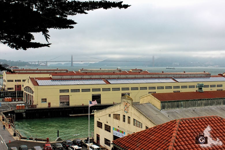 San Francisco - Fort Mason im Nebel