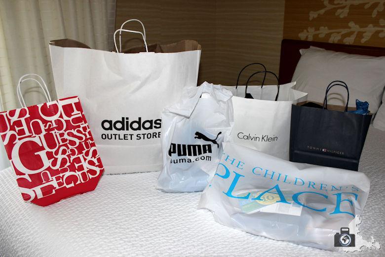 Outlet Gilroy San Jose - Einkaufstüten