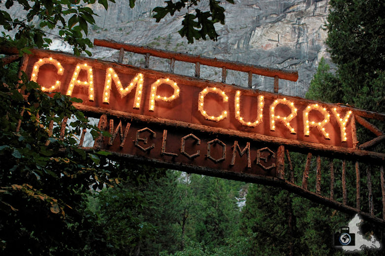 Yosemite Nationalpark - Camp Curry Half Dome Village