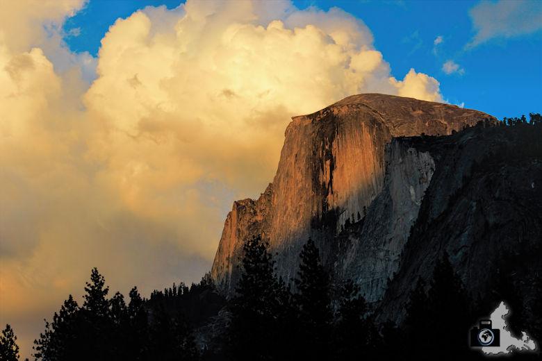 Yosemite Nationalpark - Half Dome bei Sonnenuntergang