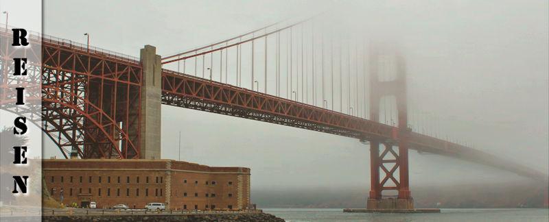 San Francisco - Stadt im Nebel