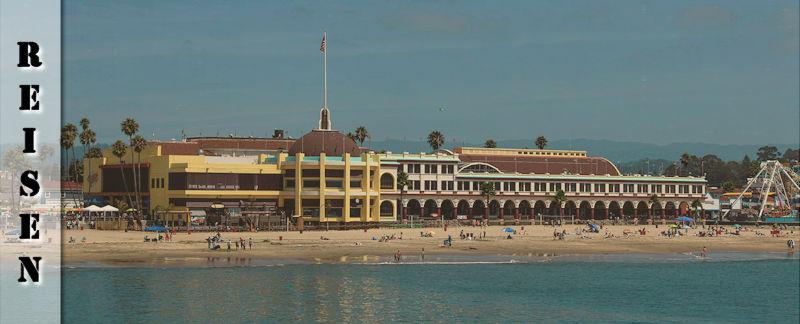Reisebericht - Santa Cruz Broadwalk & Monterey 17 Mile Drive