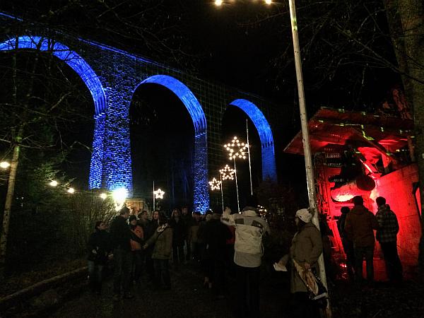 Weihnachtsmarkt in der Ravennaschlucht