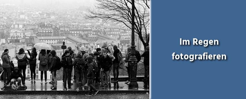 Fototipps Fotografieren im Regen