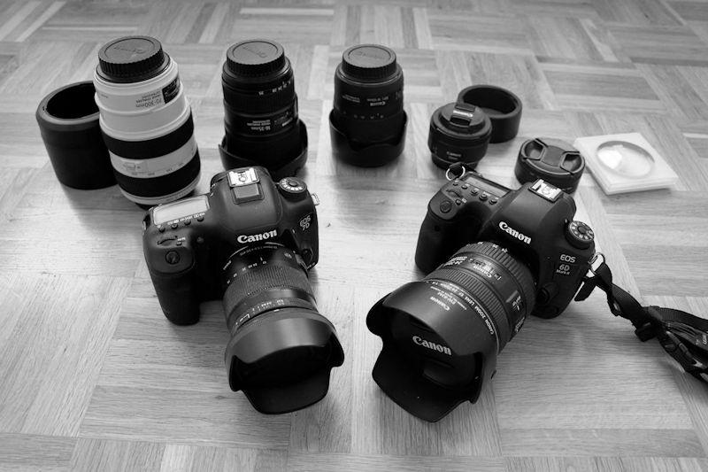Meine Reiseblogger Fotoausrüstung im Überblick