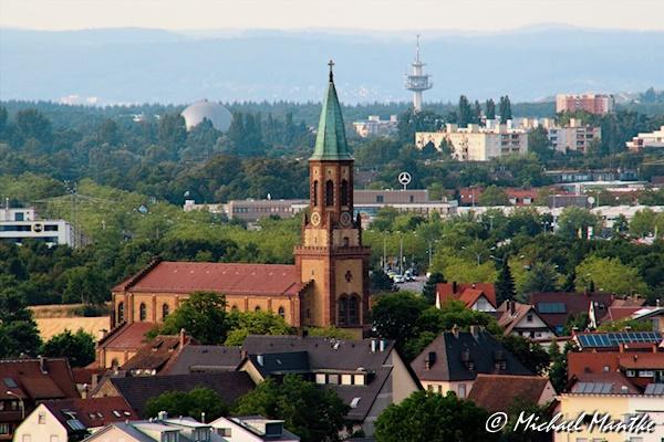 Freiburg St. Georgen im Juli