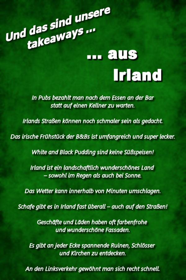 Irland Reisebericht