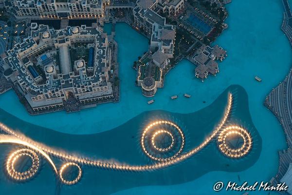 Einzigartige Momente Dubai Fountains
