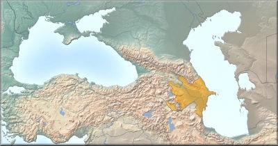 Steckbrief Aserbaidschan_Map