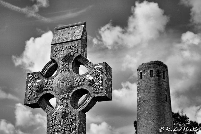 Kreuz in Clonmacnoise
