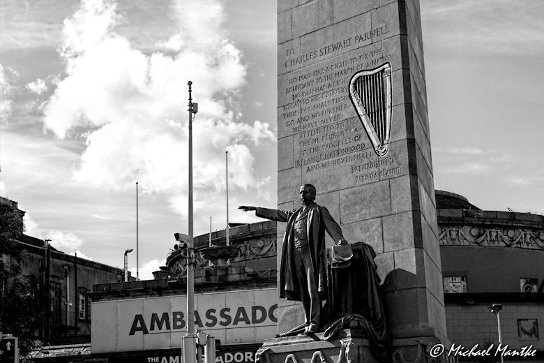 Charles Stewart Parnell Denkmal in Dublin