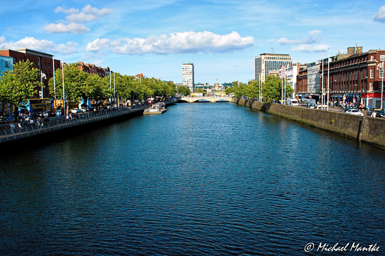 Fluss Liffey in Dublin