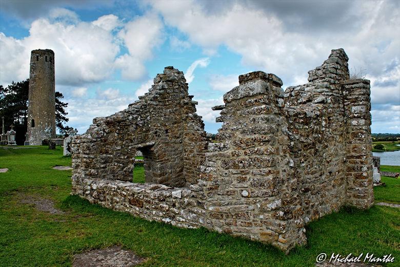 Ruine in Clonmacnoise
