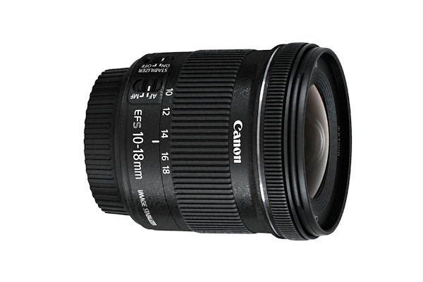 Canon EF-S 4.5-5.6/10-18 mm IS STM