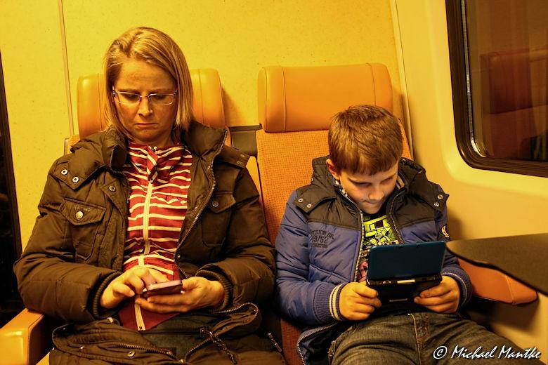 Brüssel Bahnfahrt