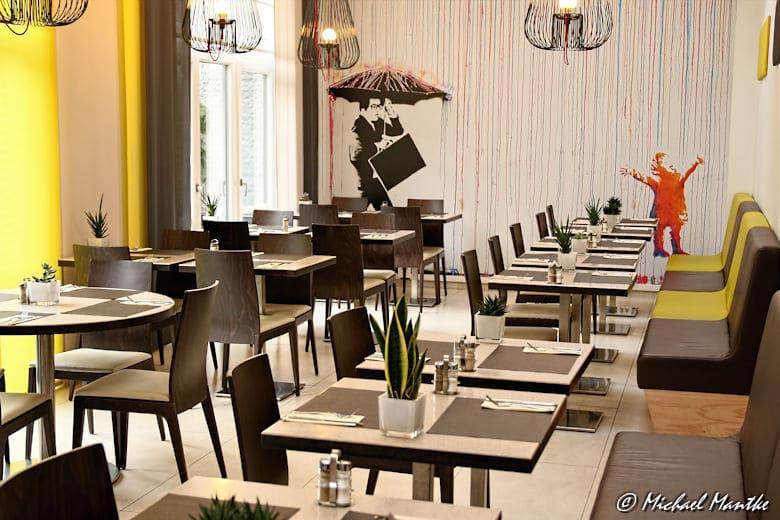 Brüssel Novotel Hotel Frühstücksraum