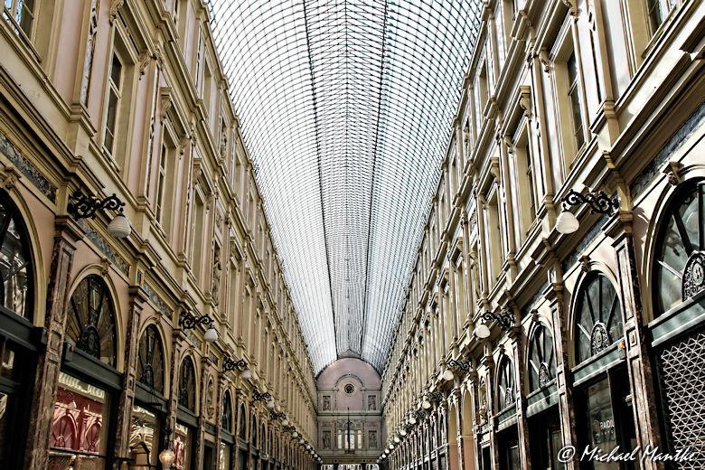 Bruessel Les Galeries Royales Saint Hubert