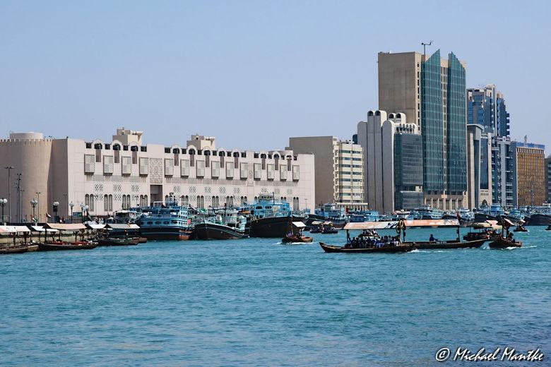 Bur Dubai Abras auf dem Creek