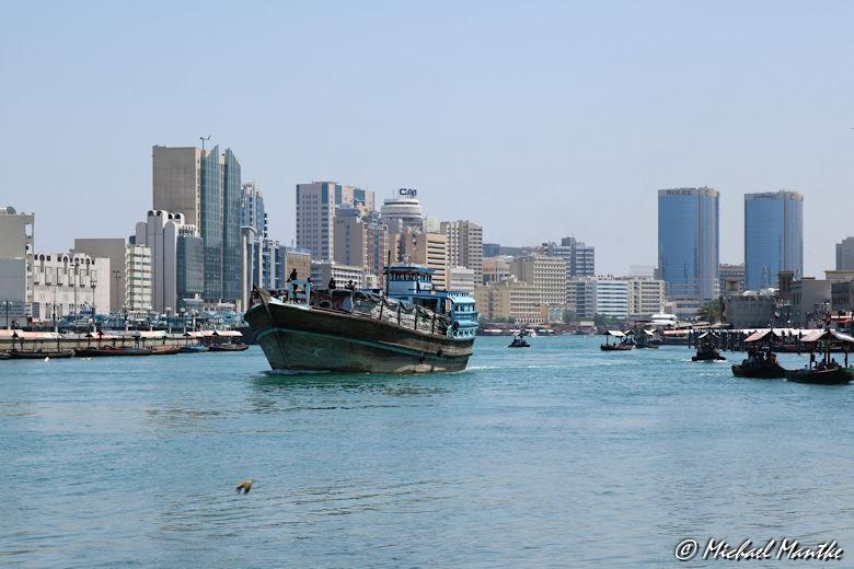 Bur Dubai Schiff auf dem Creek