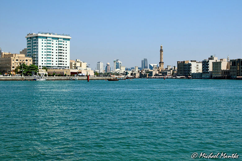 Bur Dubai am Creek