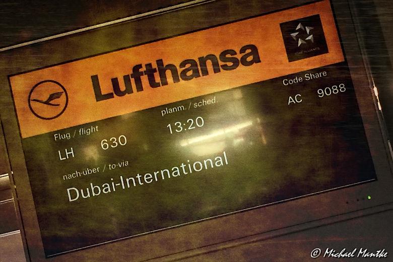 Ankunft Dubai