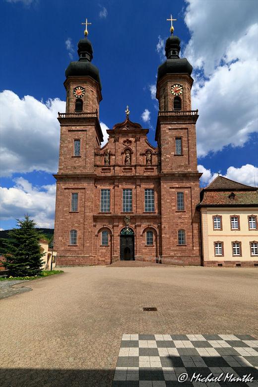 Kloster St. Peter Außenansicht