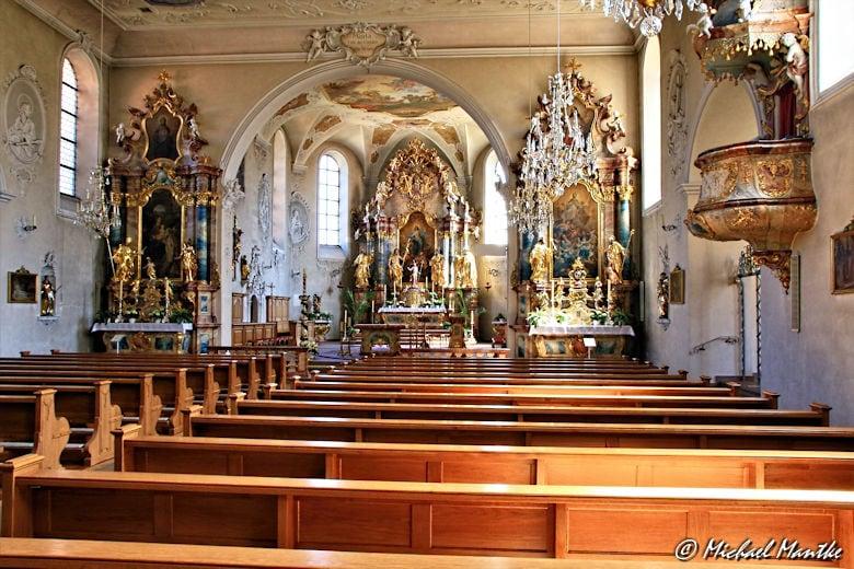 Inneres des Kloster St. Märgen