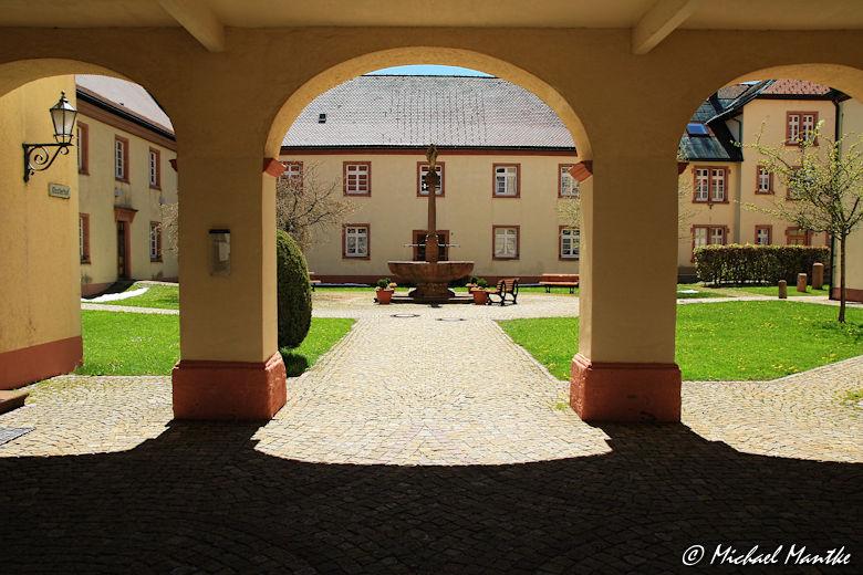 Innenhof von Kloster St. Märgen