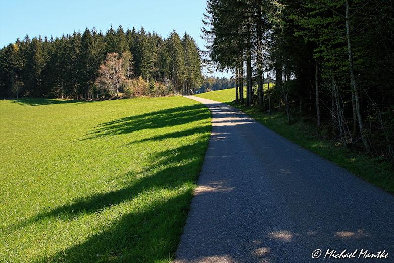 Wanderweg zwischen St. Peter und St. Märgen
