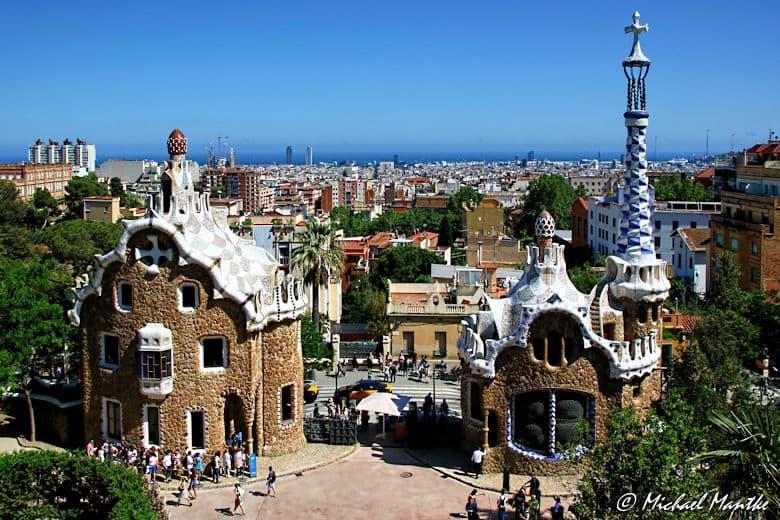 Barcelona Gaudi Park Güell