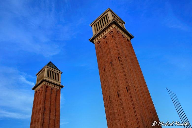 Barcelona Placa Espanya Venetian Towers