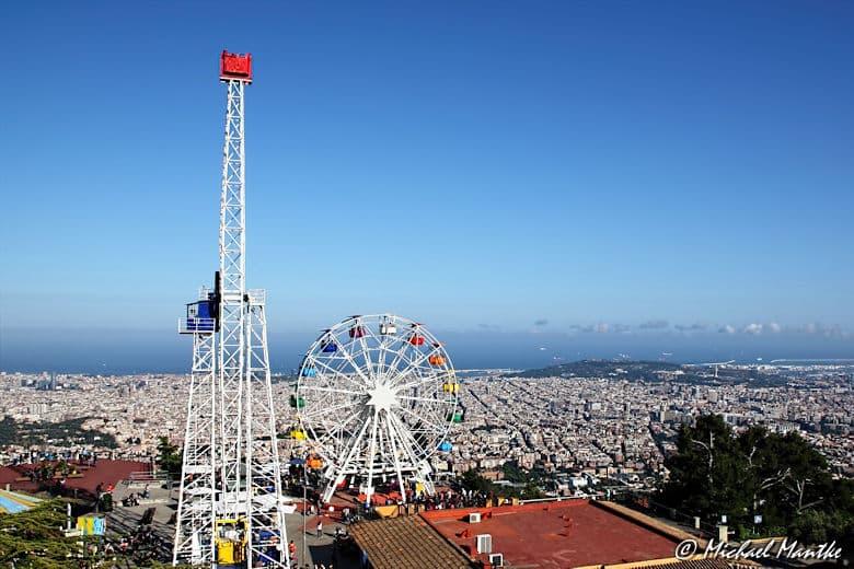 Barcelona Tibidabo Riesenrad La Atalaya