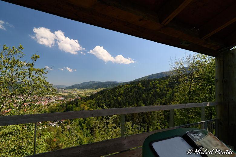 Aussicht auf Waldkirch