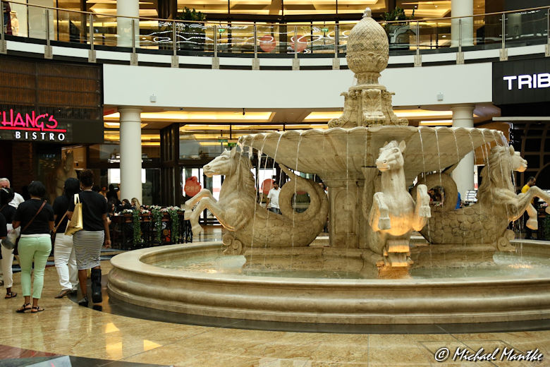 Dubai Mall of the Emirates Springbrunnen