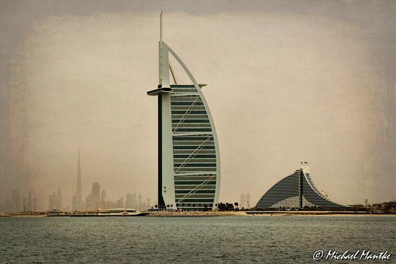 dubai marina burj al arab