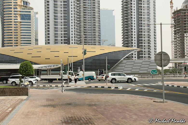 Marina Dubai Walk Metro Station